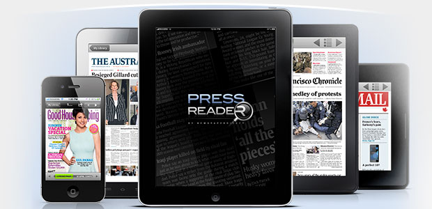 Press Reader, any device